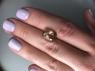 Винно-желтый топаз формы антик, вес 6.73 карат, размер 11.4х9мм (winetop0080)