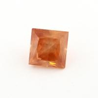 Циркон (гиацинт) квадрат вес 4.55 карат, размер 8.2х8.1мм (zircon0018)