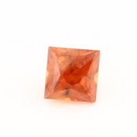 Циркон (гиацинт) квадрат вес 2.9 карат, размер 7х7мм (zircon0019)