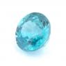 Голубой циркон (старлит) круг вес 1.78 карат, размер 6.5х6.5мм (zircon0104)