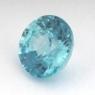 Светло-голубой циркон (старлит) круг вес 2.14 карат, размер 7.1х7мм (zircon0106)