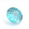 Голубой циркон (старлит) круг вес 1.37 карат, размер 6.4х6.3мм (zircon0107)