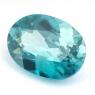 Голубой циркон (старлит) овал вес 2.3 карат, размер 9.5х6.8мм (zircon0108)