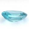 Голубой циркон (старлит) овал вес 2.72 карат, размер 9.4х6.9мм (zircon0110)