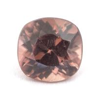 Светло-коричневый циркон антик вес 2.59 карат, размер 7.4х7.3мм (zircon0116)