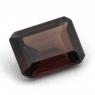 Красновато-коричневый циркон октагон вес 2.17 карат, размер 8.1х6.2мм (zircon0120)