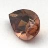 Коричневый циркон груша вес 3 карат, размер 10.2х7.1мм (zircon0132)