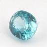 Голубой циркон формы овал, вес 2.01 карат, размер 7.2х6.3мм (zircon0140)