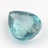 Голубой циркон формы груша, вес 2.4 карат, размер 9.2х7.1мм (zircon0141)