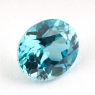 Голубой циркон формы овал, вес 3.11 карат, размер 9х7.6мм (zircon0143)