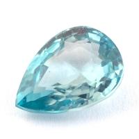 Голубой циркон формы груша, вес 2.47 карат, размер 9.2х6.9мм (zircon0149)