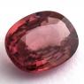 Розовый циркон формы овал, вес 5.68 карат, размер 12х9.4мм (zircon0157)