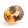 Золотисто-коричневый циркон формы овал, вес 2.64 карат, размер 8.9х6.9мм (zircon0178)