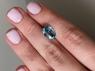 Голубой циркон (старлит) овал, вес 5.28 карат, размер 11.4х8.6мм (zircon0179)